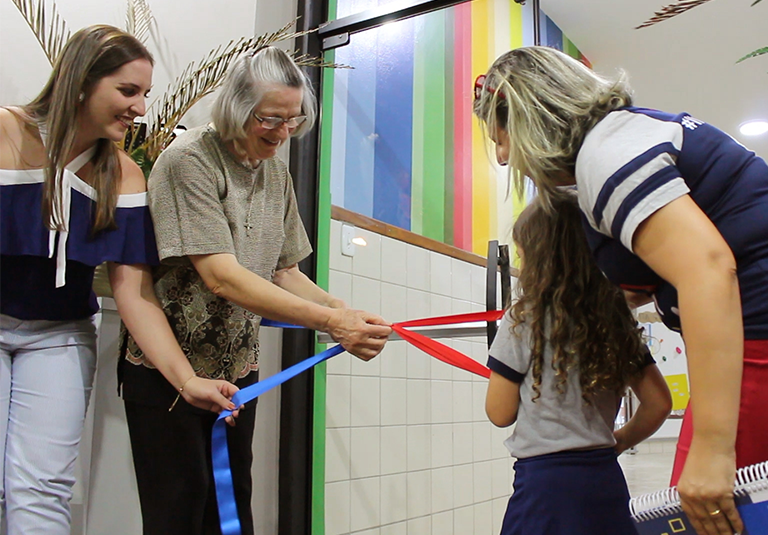 Reinauguração da Educação Infantil: uma nova proposta pedagógica