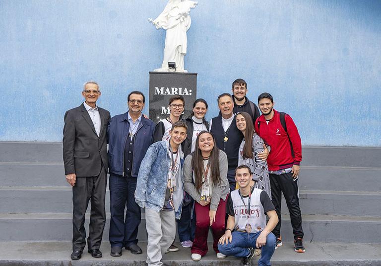 Encontro de Jovens e da Família Salesiana com o Reitor-Mor