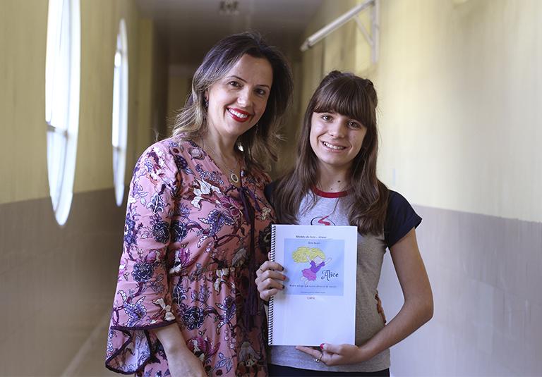Aluna do IMA escreveu livro de literatura infantil contemplado no Prêmio Nodgi Pellizzetti de Incentivo à Cultura 2018