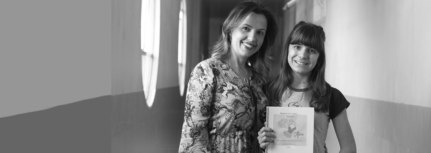 Aluna escreveu livro contemplado no Prêmio Nodgi Pellizzetti de Incentivo à Cultura 2018
