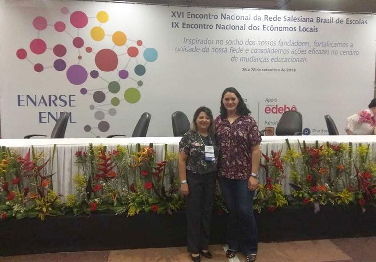 Diretoras participam do XVI Encontro Nacional da Rede Salesiana Brasil de Escolas