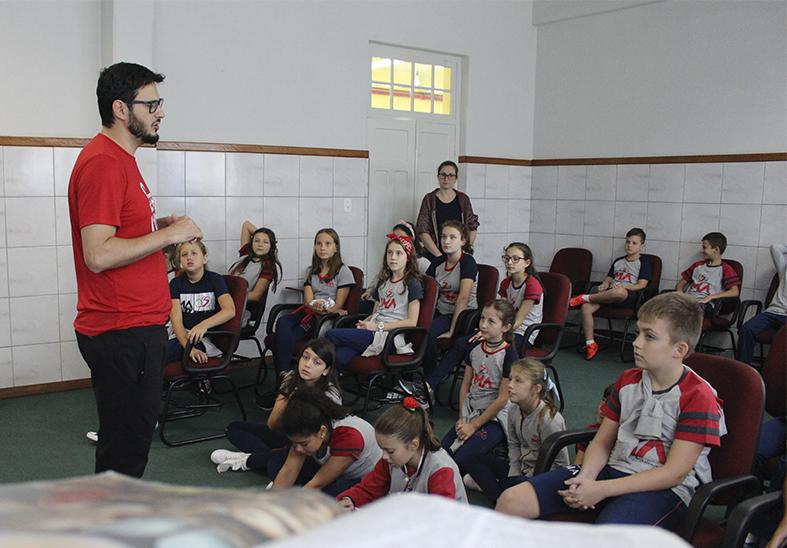 Semana pedagógica-pastoral com os alunos do EF1
