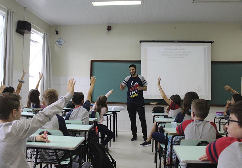 Semana pedagógica-pastoral com os alunos