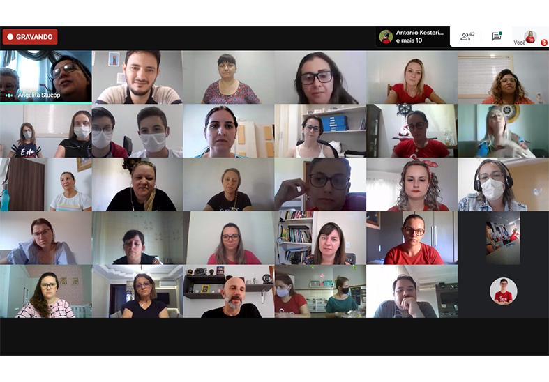 Online, colaboradores do IMA celebram um Natal de Esperança