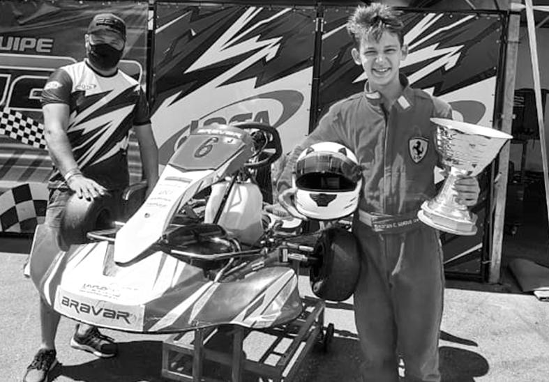 Irmãos estudantes do IMA se destacam em Campeonato de Kart