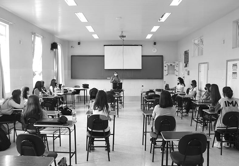IMA trabalha a conscientização dos alunos no Dia Internacional da Mulher